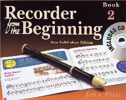 Recorder from the Beginning - Book 2 John Pitts laflutedepan