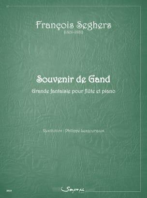 Souvenir de Gand François Seghers Partition laflutedepan