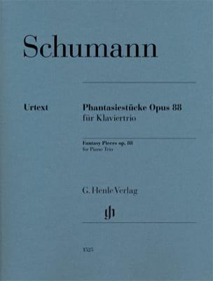 Phantasiestücke, opus 88 Robert Schumann Partition laflutedepan