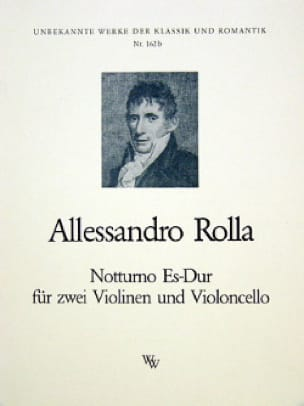 Notturno Es-Dur -2 Violinen Violoncello - Stimmen - laflutedepan.com