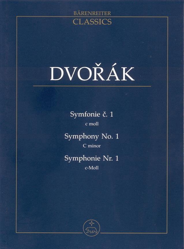 Symphonie Nr. 1 -Partitur - DVORAK - Partition - laflutedepan.com