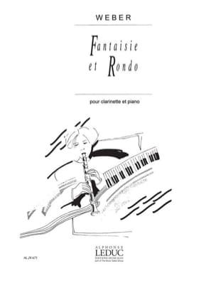 Fantaisie et Rondo op. 34 Carl Maria von Weber Partition laflutedepan