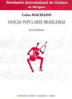 Danças populares Brasileiras Celso Machado Partition laflutedepan