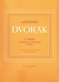 Les Cyprès - Parties instrumentales DVORAK Partition laflutedepan