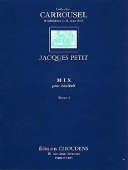 Mix Jacques Petit Partition Hautbois - laflutedepan