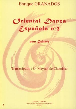 Enrique Granados - Oriental Danza Espanola Nr. 2 - Partition - di-arezzo.de