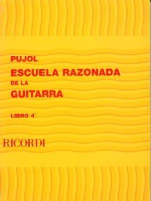 Ecole raisonnée de la guitare - Livre 4 - laflutedepan.com