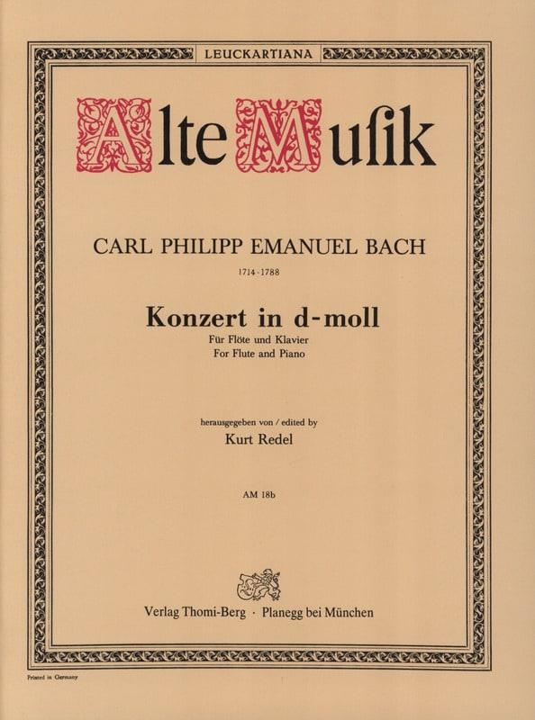 Konzert In D-Moll Wotq 22 - Flöte Klavier - laflutedepan.com