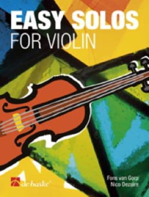 Easy solos for Violon - Fons van Gorp - Partition - laflutedepan.com