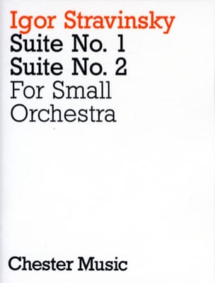 Suites N° 1 & 2 For Small Orchestra - Score STRAVINSKY laflutedepan