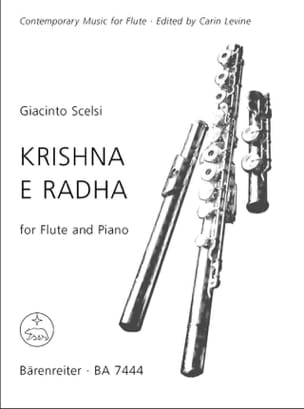 Krishna e Radha - Flute piano Giacinto Scelsi Partition laflutedepan