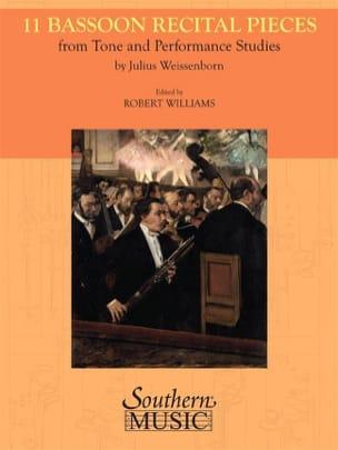 11 Bassoon Recital pieces Julius Weissenborn Partition laflutedepan
