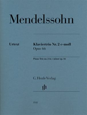 Trio n° 2 en do mineur, opus 66 laflutedepan