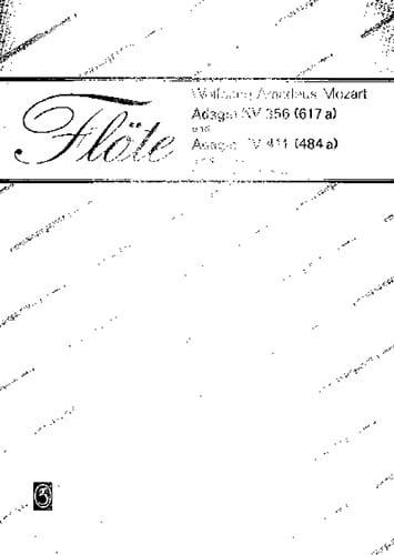 Adagio Kv 356 / Adagio Kv 411 - MOZART - Partition - laflutedepan.com
