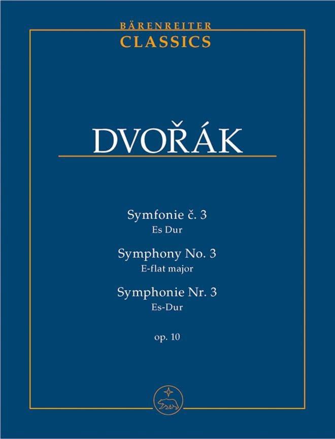 Symphonie Nr. 3 - Partitur - DVORAK - Partition - laflutedepan.com