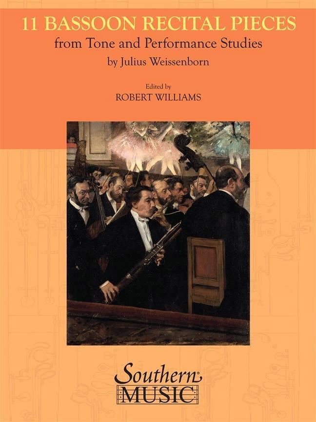 11 Bassoon Recital pieces - Julius Weissenborn - laflutedepan.com