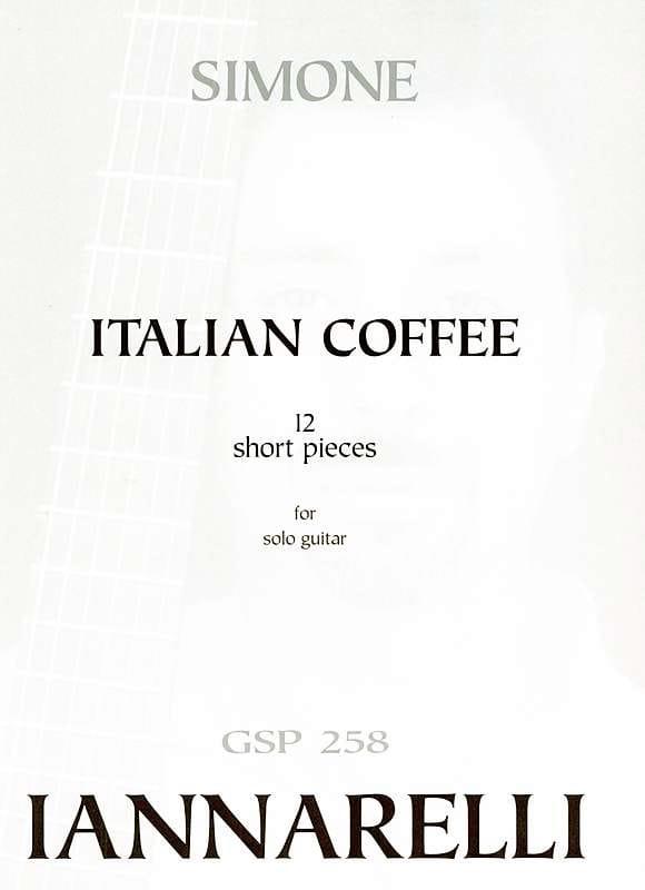 Italian Coffee - Simone Iannarelli - Partition - laflutedepan.com