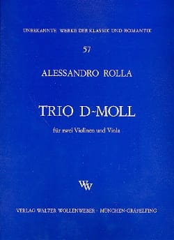 Trio d-moll -2 Violinen u. Viola - Stimmen laflutedepan