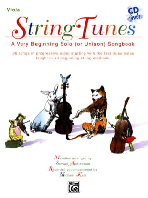 String Tunes - Viola Samuel Applebaum Partition Alto - laflutedepan