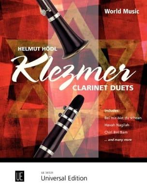 Klezmer Clarinet Duets Helmut Hödl Partition Clarinette - laflutedepan