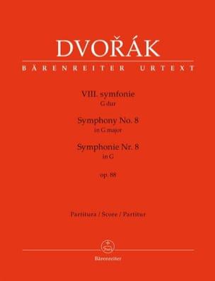 Symphonie n° 8 - Conducteur DVORAK Partition laflutedepan