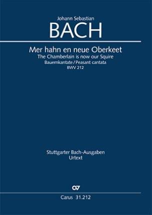 Cantate BWV 212 Johann Sebastian Bach Partition laflutedepan