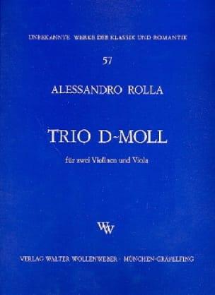 Trio d-moll -2 Violinen u. Viola - Stimmen - laflutedepan.com