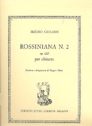 Rossiniana n° 2 op. 120 - Mauro Giuliani - laflutedepan.com