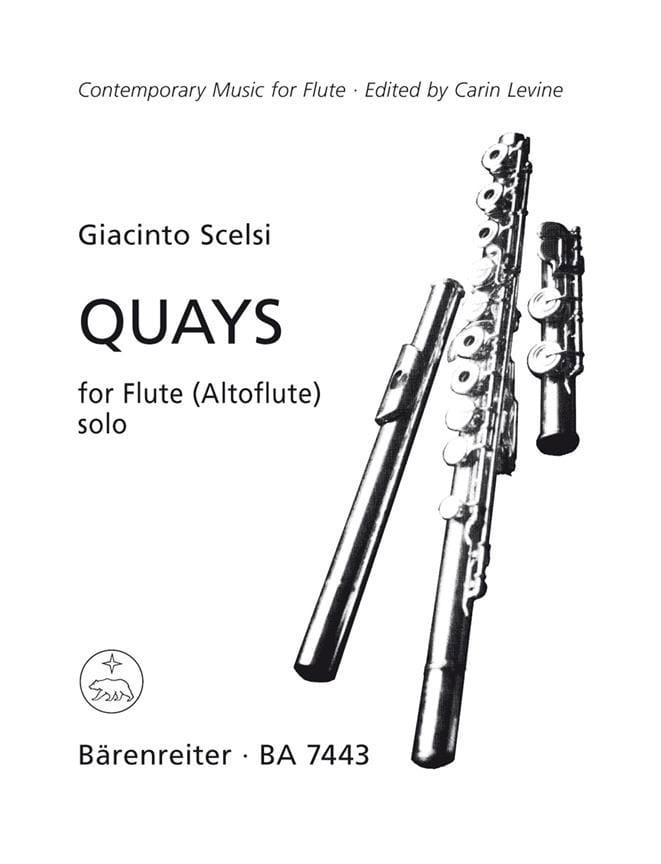 Quays - Giacinto Scelsi - Partition - laflutedepan.com