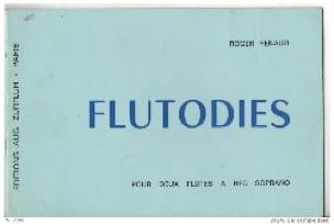 Flutodies - Roger Renaud - Partition - Flûte à bec - laflutedepan.com