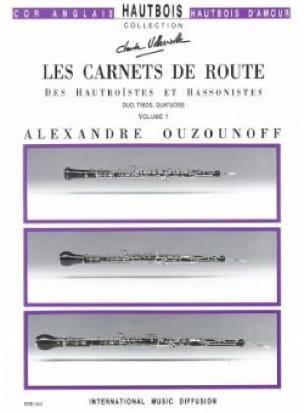 Les carnets de route - Volume 1 - Parties + conducteur - laflutedepan.com