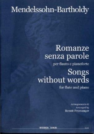 Romances Sans Paroles - MENDELSSOHN - Partition - laflutedepan.com