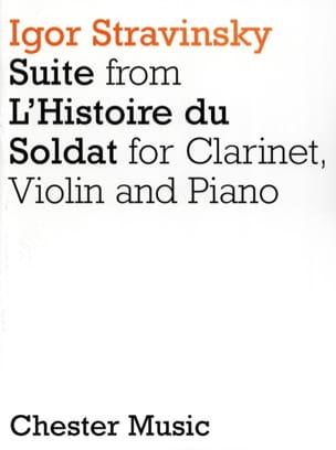 Suite de L'histoire du Soldat - Clarinet Violin Piano laflutedepan