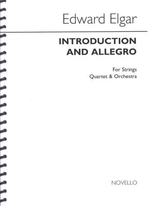 Introduction and Allegro op. 47- Score ELGAR Partition laflutedepan