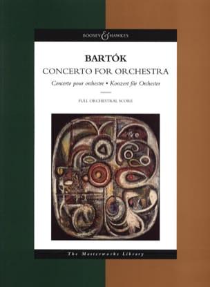Concerto pour orchestre - Score BARTOK Partition laflutedepan