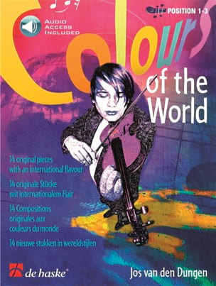 Colours Of The World Jos van den Dungen Partition laflutedepan