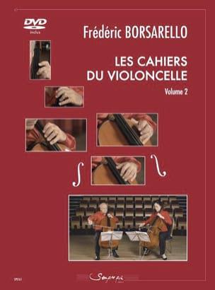 Les Cahiers du Violoncelle Vol. 2 Frédéric Borsarello laflutedepan