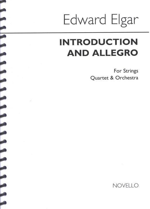 Introduction and Allegro op. 47- Score - ELGAR - laflutedepan.com