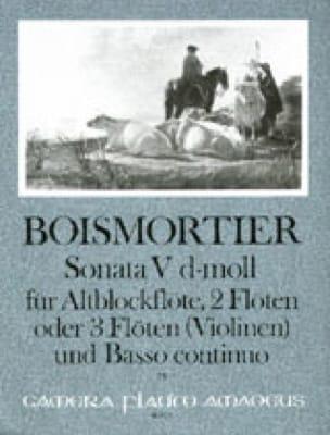 Sonata Nr. 5 d-moll -Altblockflöte 2 Flöten u. BC - laflutedepan.com