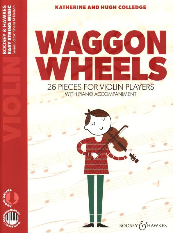 Waggon Wheels - Violon - Partition - Violon - laflutedepan.com