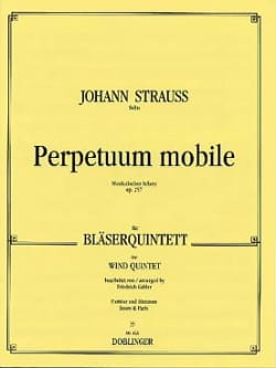 Perpetuum mobile op. 257 -Bläserquintett - Partitur + Stimmen - laflutedepan.com