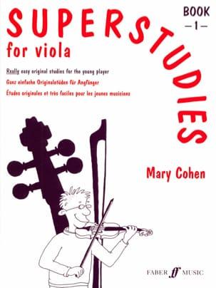 Superstudies volume 1 - alto Mary Cohen Partition Alto - laflutedepan
