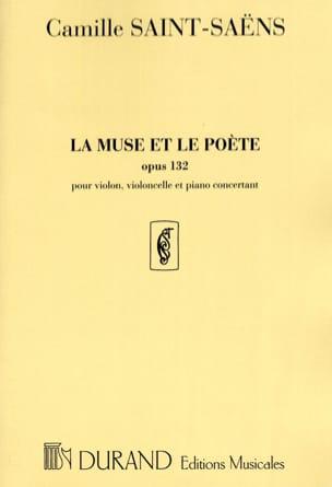 La Muse et le Poète - Opus 132 SAINT-SAËNS Partition laflutedepan