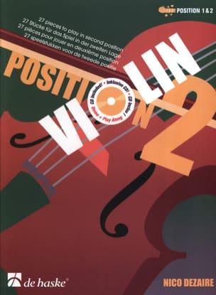 Position 2 - Violon Nico Dezaire Partition Violon - laflutedepan