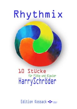 Rhythmix Harry Schröder Partition Flûte traversière - laflutedepan