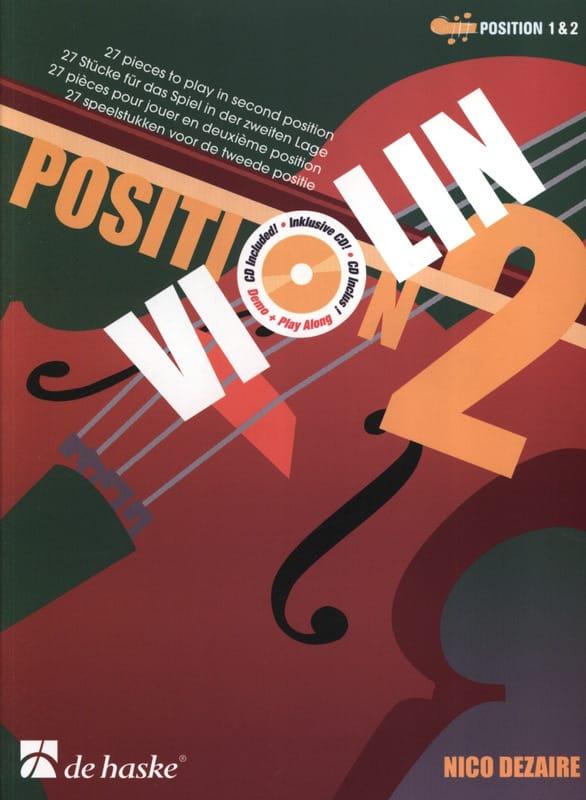 Position 2 - Violon - Nico Dezaire - Partition - laflutedepan.com