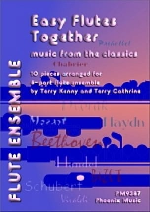 Easy Flutes Together -4 Flutes - Partition - laflutedepan.com