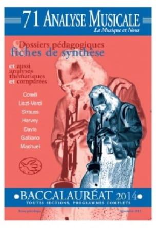 Analyse musicale - Baccalauréat 2014 - Revue - laflutedepan.com
