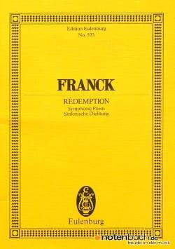 César Franck - Redemption - Partition - di-arezzo.co.uk