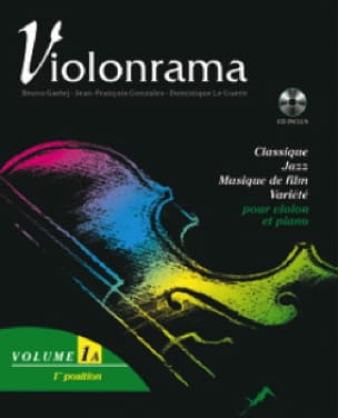 Violonrama - Volume 1A - Partition - Violon - laflutedepan.com